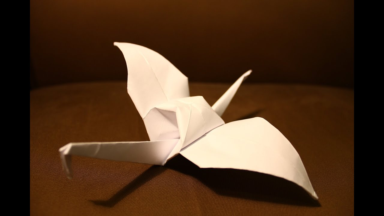 How To Make An Origami Paper Bird Clear Easy Steps Youtube