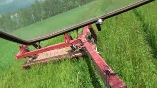 Косим траву косилкой Беркут 3200