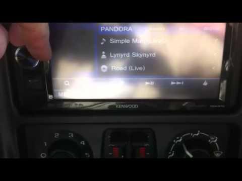 Kenwood DDX370 iPhone 5s - YouTube