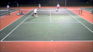 USTA Tennis - 4.0 doubles - 10/23/2012