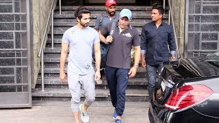 Shahid Kapoor Spotted At I Think Fitness Gym Juhu