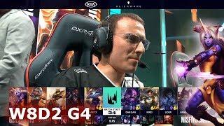 G2 eSports vs Misfits | Week 8 Day 2 S9 LEC Summer 2019 | G2 vs MSF W8D2