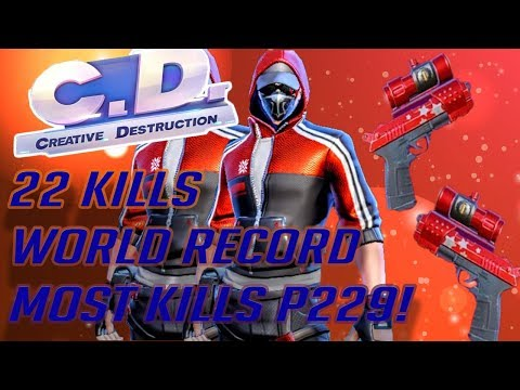 **World Record** p229 22 KILLS! (Creative Destruction)