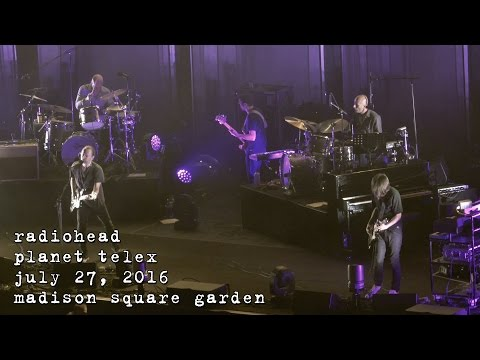 Radiohead: Planet Telex [4K] 2016-07-27 - Madison Square Garden; New York, NY