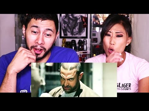 GHAJINI | Aamir Khan |  Action Scene Reaction w/ Cassie Lee Minick!