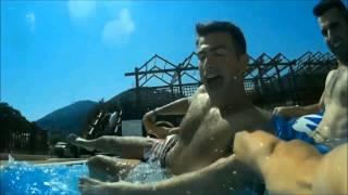 İzmir Turkey Aquapark Gopro Sjcam Pool 2015 Holiday Türkiye