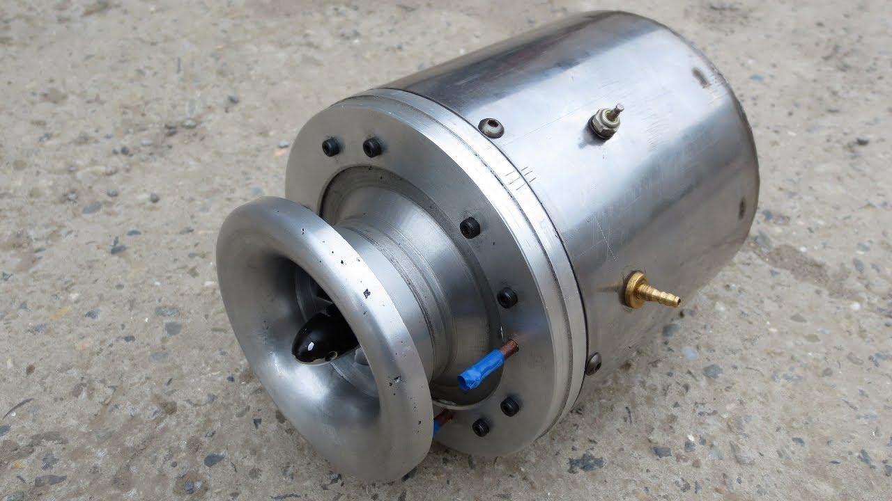 Самодельный ТРД — 70000 RPM