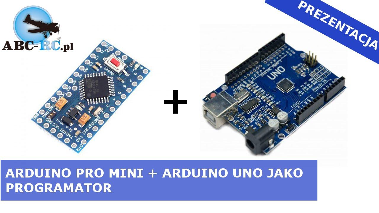 Arduino pro mini uno jako programator abc rc pl youtube
