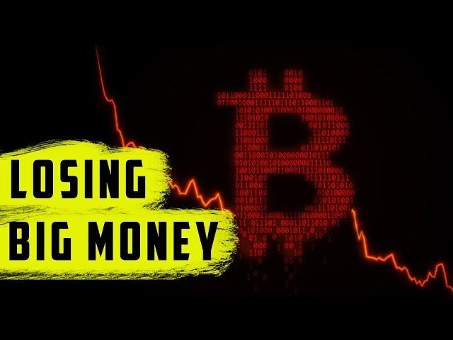 Losing BIG money in crypto (BTC, ETH, DOGE, SHIBA, SAFEMOON)
