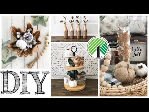 DIY Dollar Tree Fall Decor | 5 COPPER PROJECTS! thumbnail