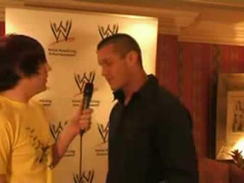 Randy Orton Slaps An Emo Dude