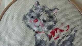 Вышивка для начинающих 2 ЧАСТЬ: с чего начать? /Cross stitch for beginners