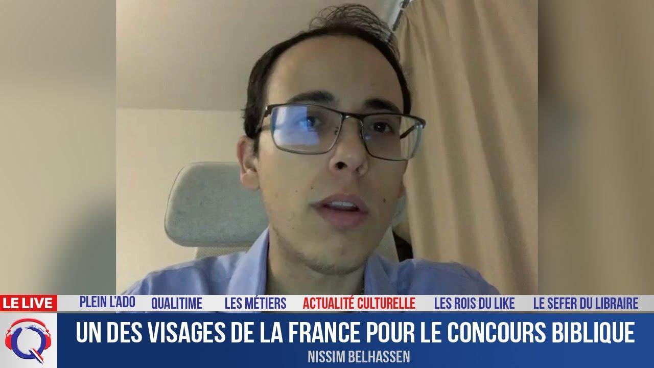 Un des visages de la France pour le concours biblique - Actuculture#291
