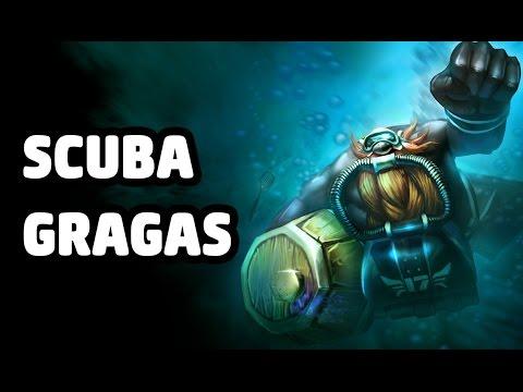 scuba gragas skin spotlight youtube