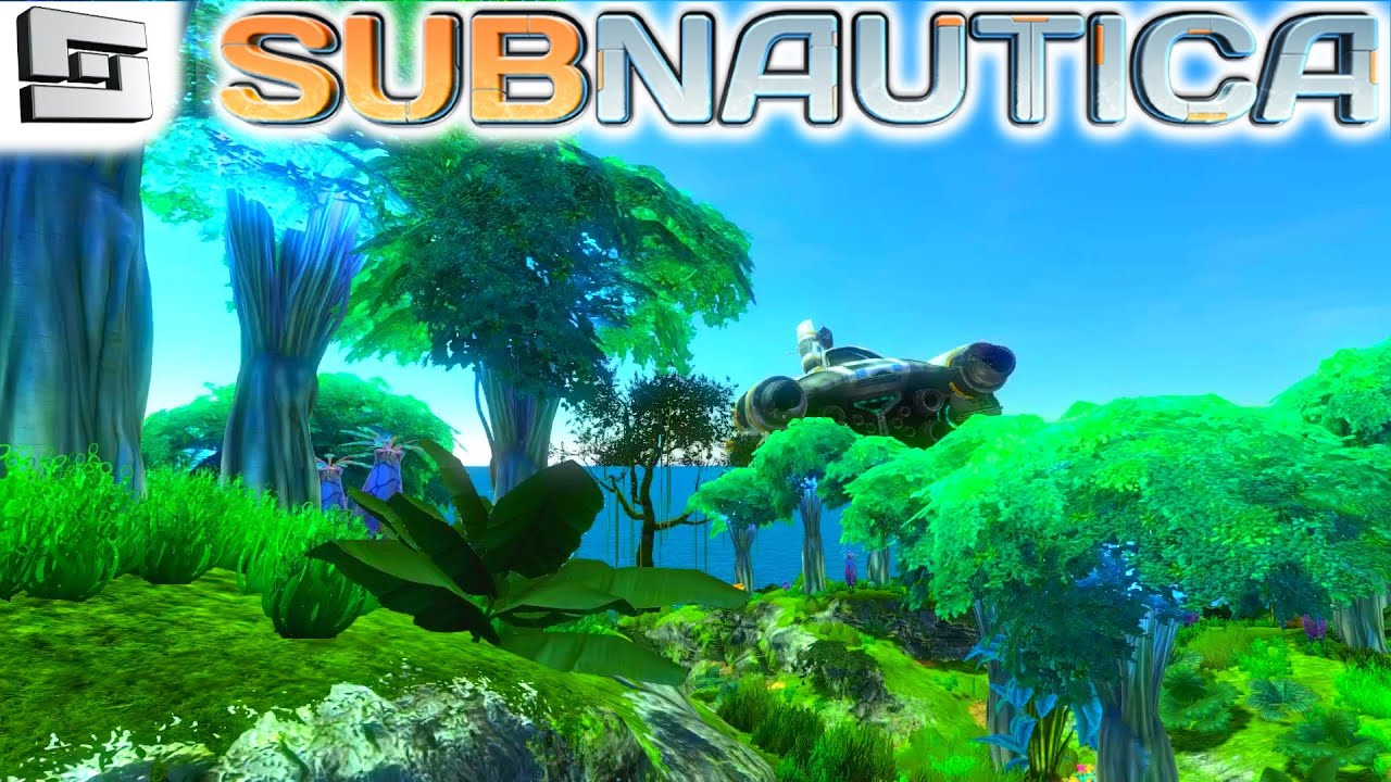 Subnautica Gameplay : FLOATING ISLAND! DRY LAND! S2E10 ...