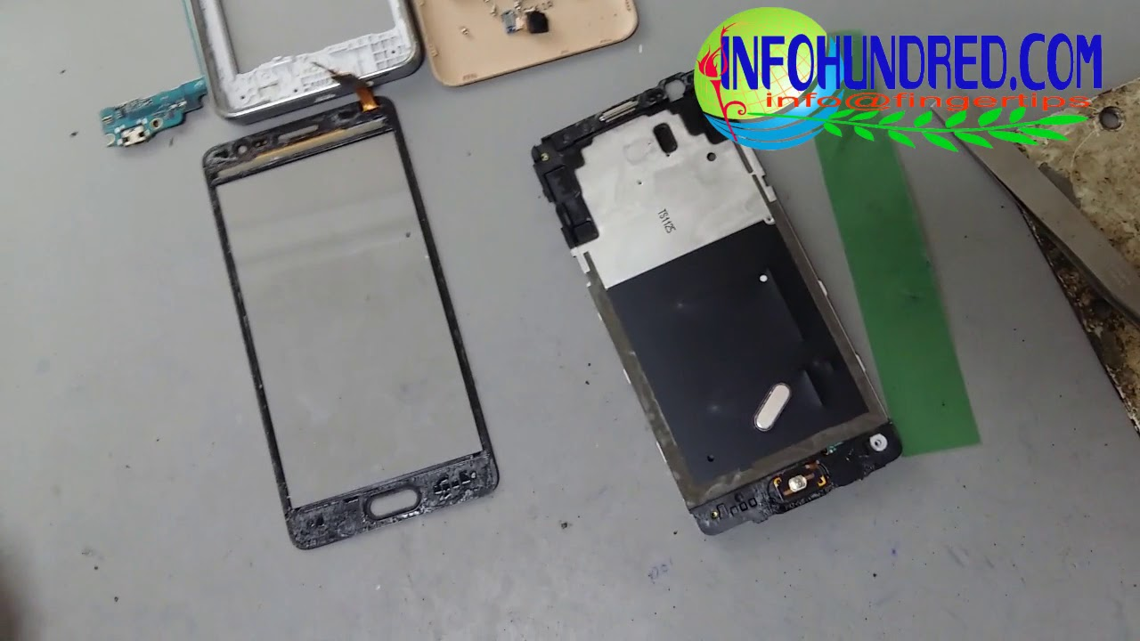 On 5 Touch Screen Replace