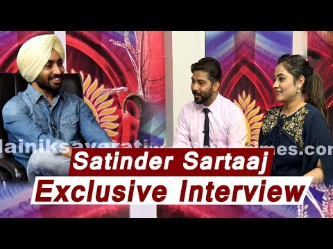 Satinder Sartaaj l Exclusive Interview | New Surprise Coming Soon l Dainik Savera