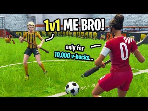Видео fortnite soccer