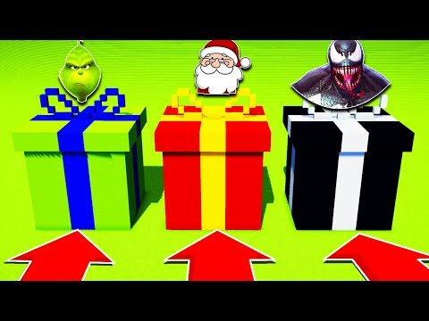 DO NOT CHOOSE THE WRONG CHRISTMAS PRESENT THE GRINCH SANTA VENOMPS4XboxOnePEMCPE