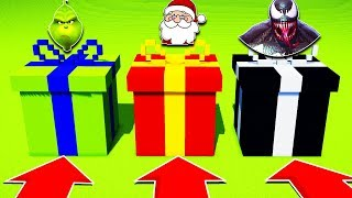DO NOT CHOOSE THE WRONG CHRISTMAS PRESENT! (THE GRINCH, SANTA, VENOM)(PS4/XboxOne/PE/MCPE)