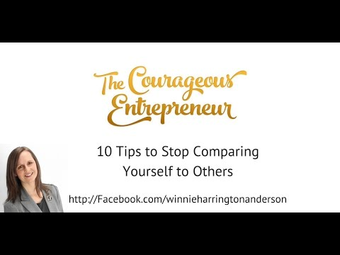 10 tips to help stop comparing yourself to others