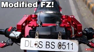Modified Fz || Under ₹5000 || Techno khan