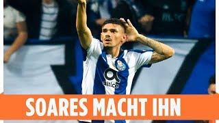 Soares macht das Tor des Tages | FC Porto - Sporting Braga 1:0 | Highlights | NOS