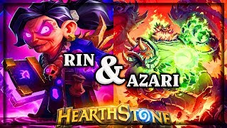 Rin and Azari ~ Kobolds & Catacombs ~ Hearthstone