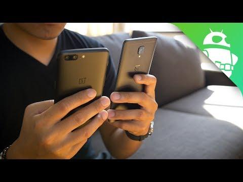 OnePlus 5 vs OnePlus 3T - Quick Look