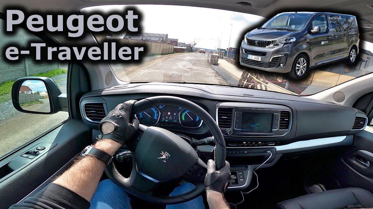 2021 Peugeot E Traveller 50 Kwh Pov Test Drive Youtube