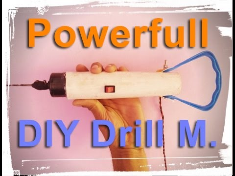 how to make a drill machine Extra power easy way