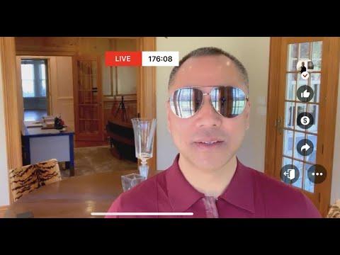 2020年3月27日郭文贵先生测试GTV直播:一切美好再也回不到今天了