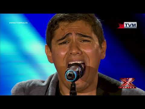 X Factor Malta - The Chair Challenge - Mark Anthony Bartolo
