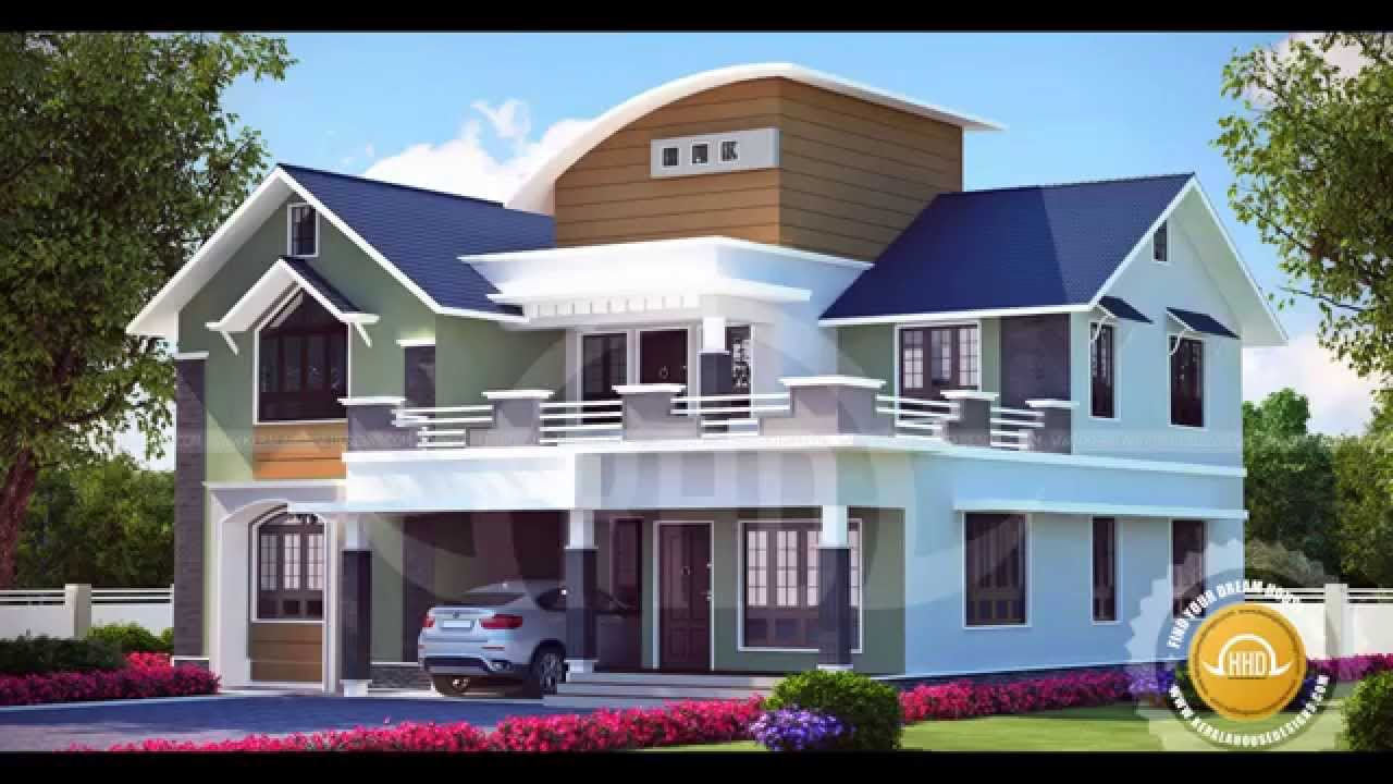 Kerala home designs youtube for Beautiful houses 2016