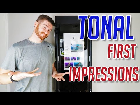First Tonal Home Gym Workout Reaction! Good or Bad???