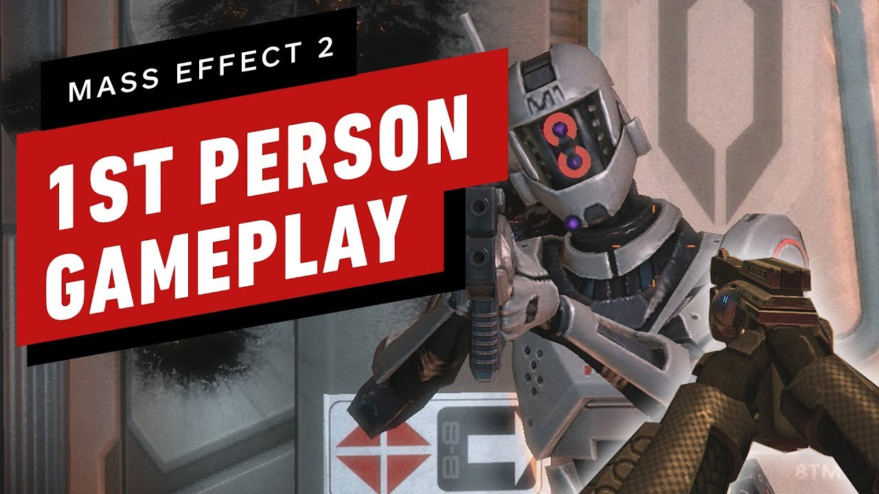 Mass Effect 2 First Person Mod Gameplay (Mod von Lord Emil1) + video