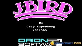 J-Bird gameplay (PC Game, 1983)