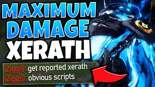 *ACCUSED OF CHEATING* #1 XERATH WORLD ATTEMPTS TO CARRY 4 BOTS - League of Legends