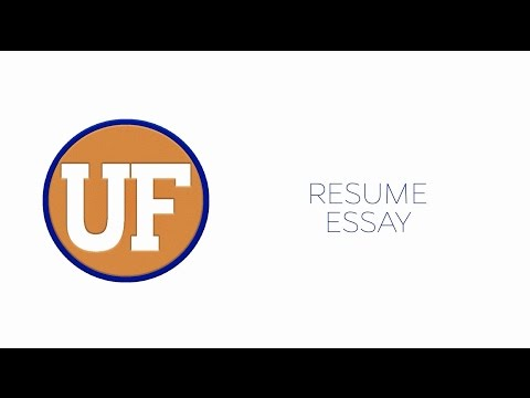 Tackling the Freshman Application - The Essay