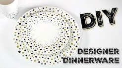 DIY Designer Dinnerware | Custom Dishes