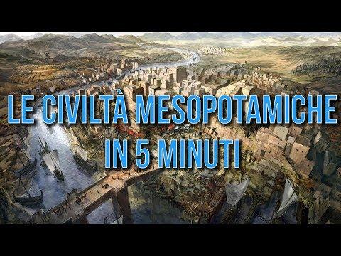 Le civiltà mesopotamiche in 5 minuti