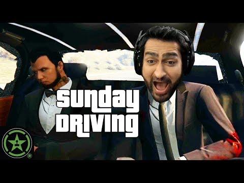 SUNDAY DRIVING ft. KUMAIL NANJIANI - GTA V | Let's Play