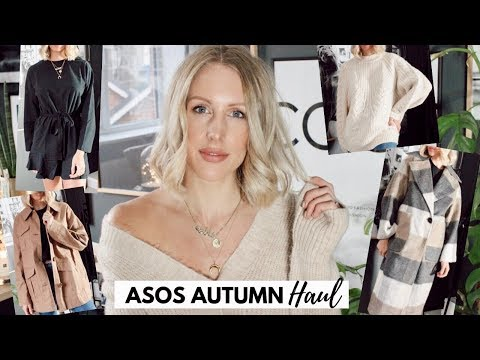 HONEST ASOS AUTUMN HAUL & TRY ON - Do ASOS Design make clothes for tall women?