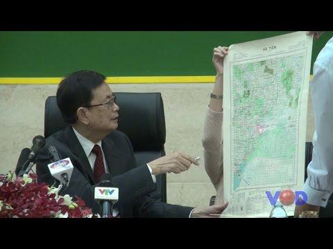 Va Kimhong Press Conference About Border Line
