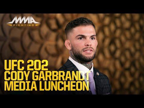 UFC 202: Cody Garbrandt Media Luncheon