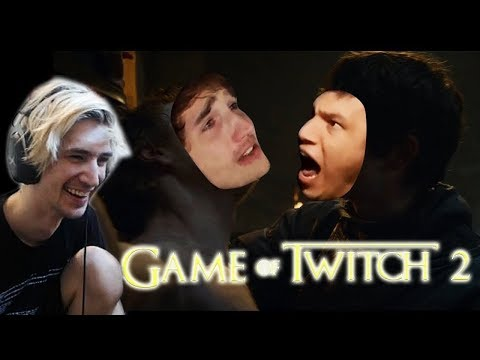 XQc Reacts To Game Of Twitch 2 By Slywolf
