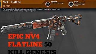 Infinite Warfare NV4 FLATLINE 50 KILL TDM Genesis