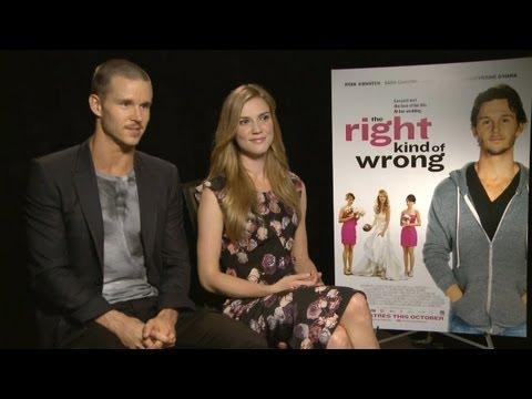 Ryan Kwanten & Sara Canning  The Right Kind of Wrong  at TIFF 2013 HD