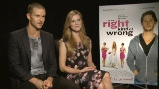 Ryan Kwanten & Sara Canning - The Right Kind of Wrong Interview at TIFF 2013 HD