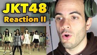 JKT48 RIVER REACTION VIDEO - INDONESIAN IDOL GROUP MUSIC VLOG #104